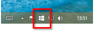 Get Windows 10 Icon on Taskbar