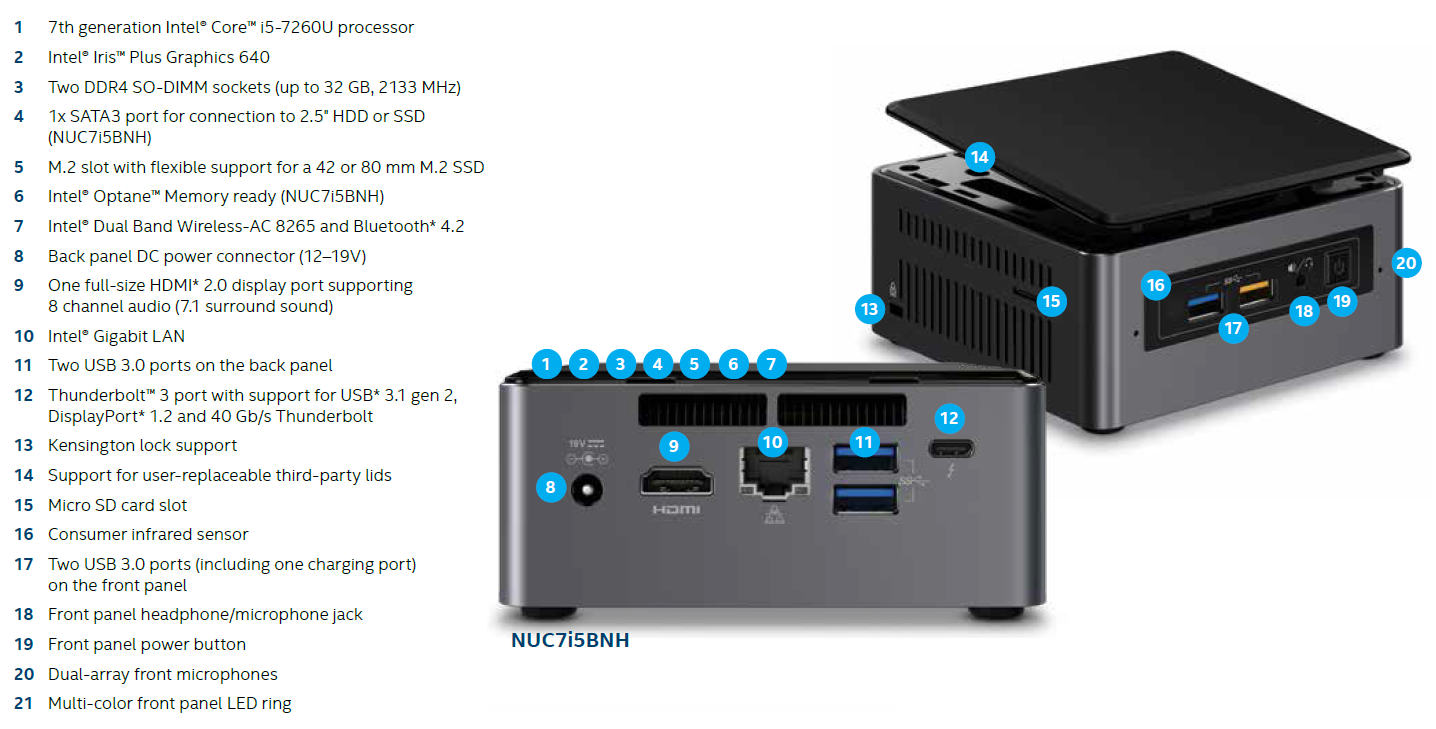 Intnuc-10019 Product Specification And Manual