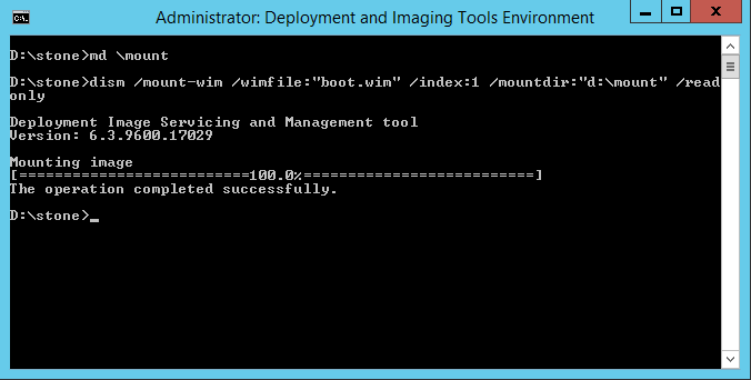 Working with Windows Image Files (WIM) - How to Mount Them
