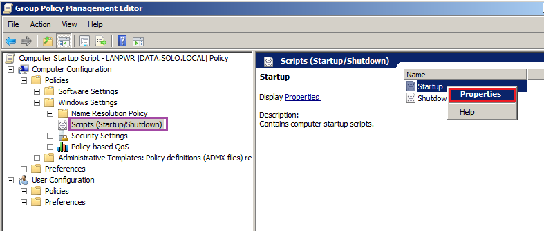 How to Deploy a Computer Startup Script via Group Policy - Stone