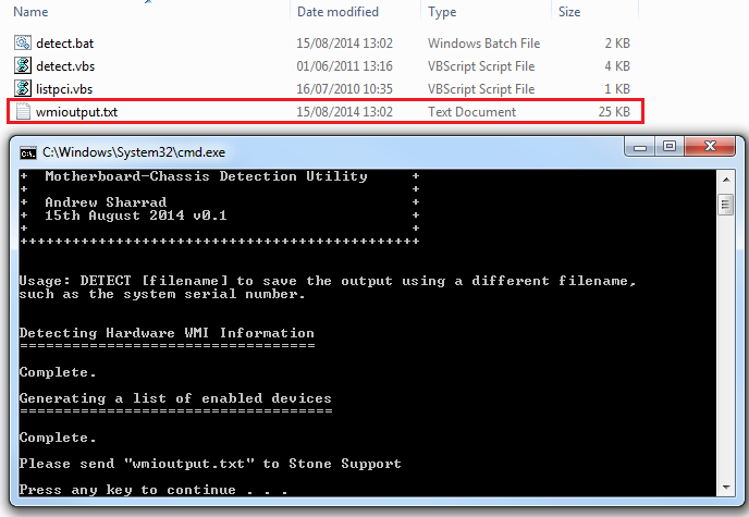 How to Retrieve System Hardware WMI / DMI and Device