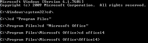 ospp vbs not found office 2010