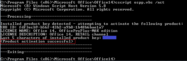 How to Work Around Office 2010 Reporting that it Couldn't