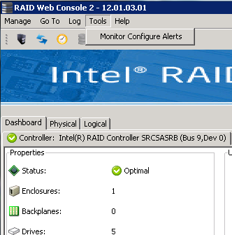 Monitoring and Managing RAID Systems - Stone Computers :: Knowledgebase