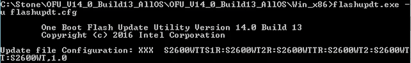 Error while parsing the CFG file