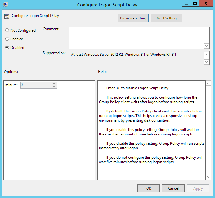 Windows 8 1 / Windows Server 2012 R2 - Group Policy User