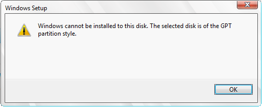 Windows Cannot be Installed to this Disk - How to Fix Problems after
